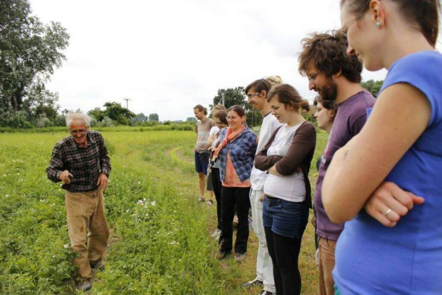 Na workshope o ekologickom poľnohospodárstve. FOTO - Archív SI