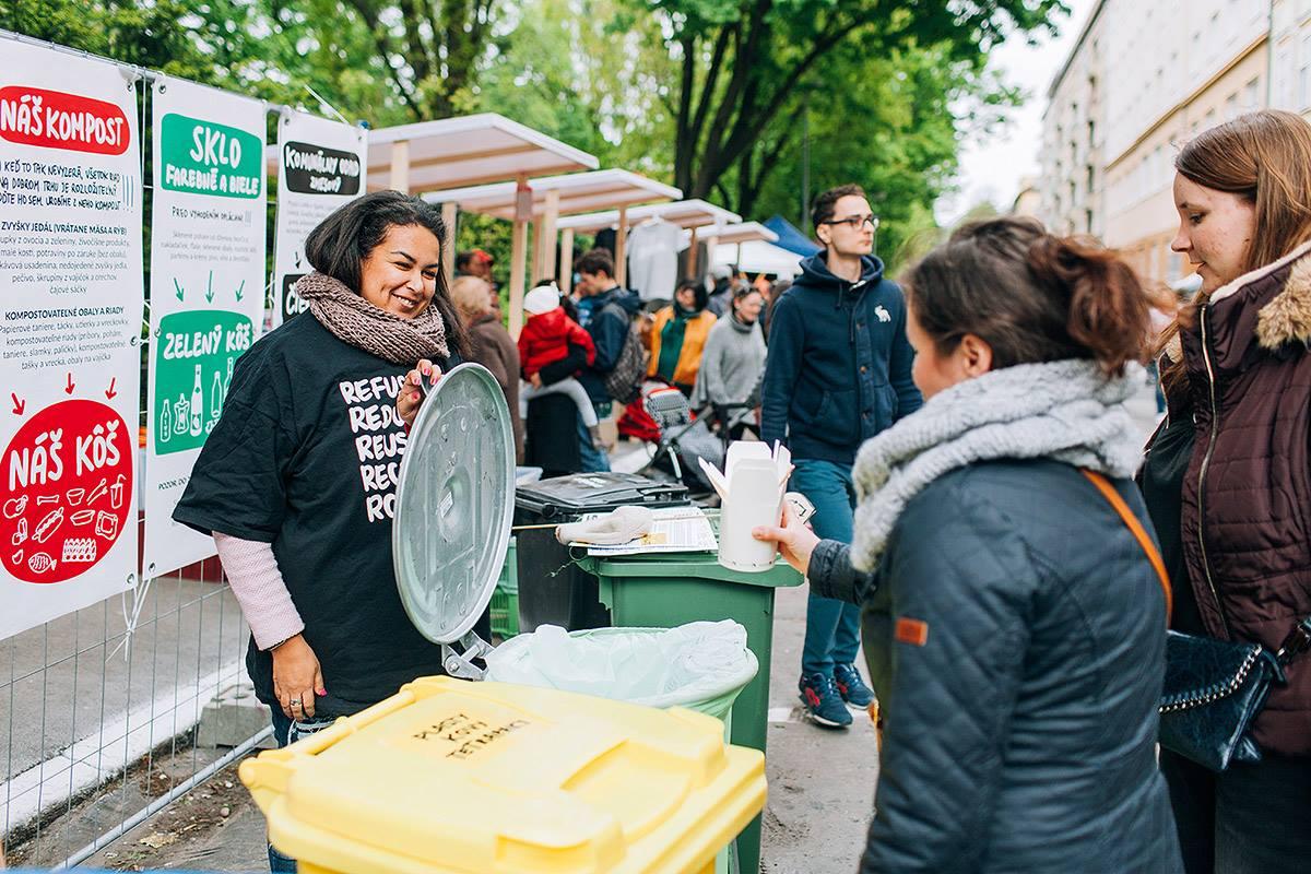 Podujatie bez záplavy použitých plastových pohárov či tanierikov? Dobrý trh ukázal, že sa to dá