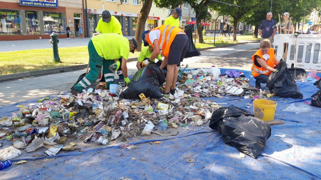 analyza odpadu JRK