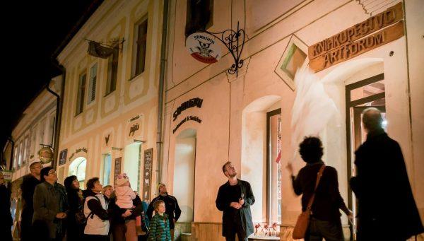 Otváranie Artfora v Banskej Bystrici. FOTO - Artforum