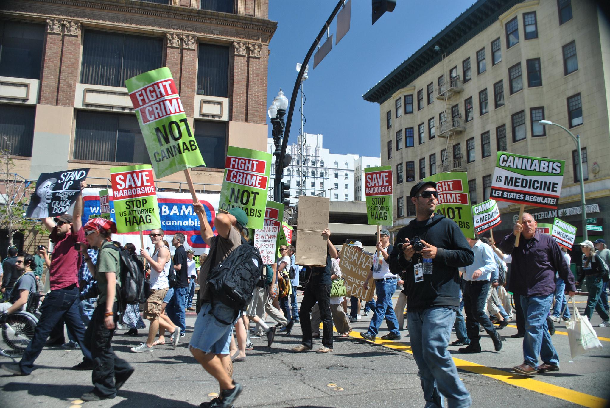 Šéfka kalifornskej kampane za legalizáciu marihuany: Ilegalita drog podporuje kriminalitu