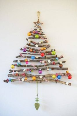Alternatívny stromček. FOTO - Pinterest.