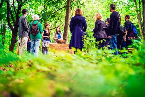 V Lese vzpomínek nie je pohreb stresom. FOTO - Archív Les vzpomínek