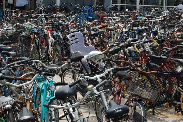 Parkovisko v Benátkach. FOTO - Archív