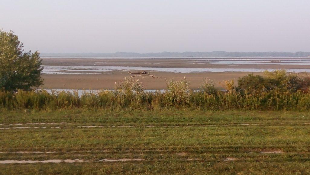 Dunaj bez vody. FOTO - Autorka