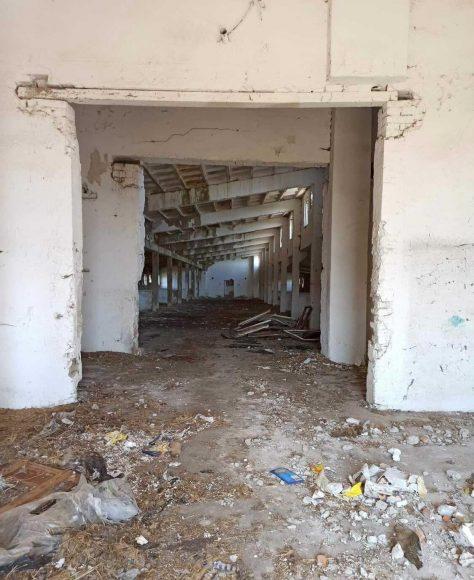 pôvodný stav budovy azylu
