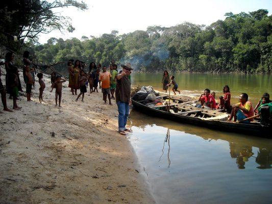 Indiáni z národa Piraha sa živia rybolovom. FOTO - Archíva Daniela Everetta