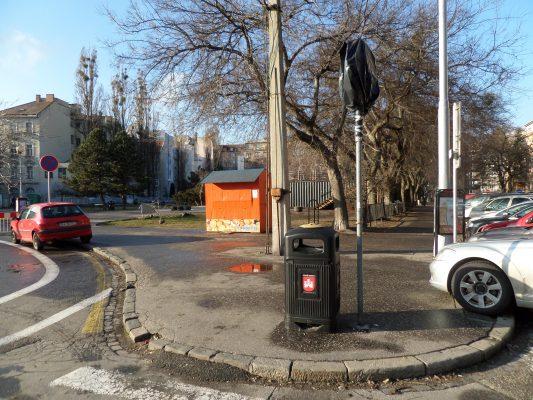 Vstup na námestie na Šafárikovom námestí. FOTO - autorka