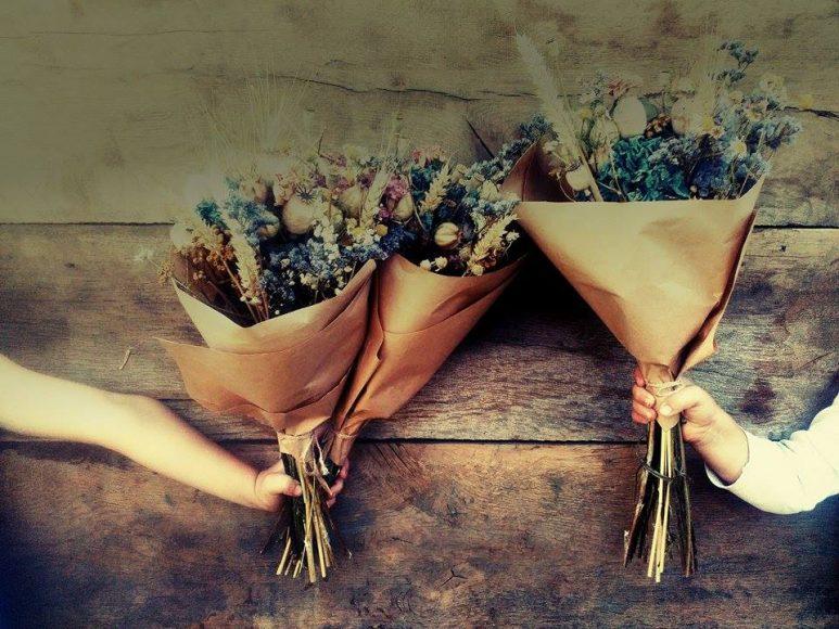 Nevädnúca kytica z kvetinárstva Černuška. FOTO - FB Černuška