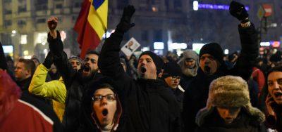 rumunsko-protesty