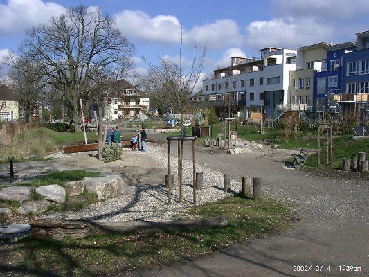 Vauban má namiesto parkovísk parky. FOTO: vauban.de